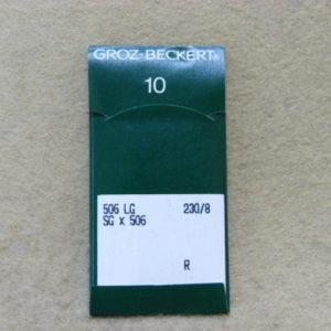 Игла Groz-beckert 506 LG (GK9) №230(уп. 10 шт.)