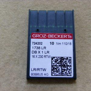 Игла Groz-beckert DBх1 LR №110(уп. 10 шт.)