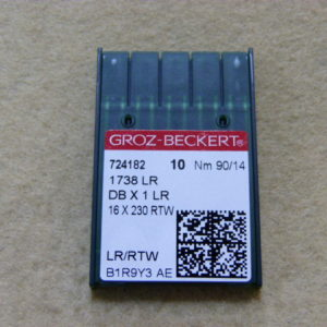 Игла Groz-beckert DBх1 LR №90(уп. 10 шт.)