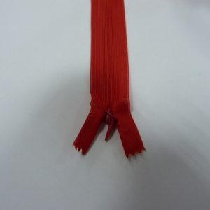 Молния потайная №3 20см ДС-257 красный