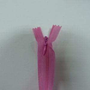 Молния потайная №3 20см Е-515 ярко-розовый