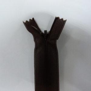 Молния потайная №3 20см Е-868 темно-коричневый