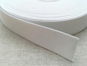Резинка белая 0025 (1рул.-50м)