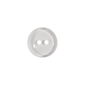 Пуговица 2-П д.11мм белая (1000 шт/уп)
