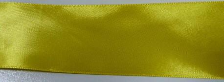 Атласная лента 50мм 30ярд. цвет золота