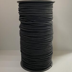 Резинка круглая 3.00мм 100м черный