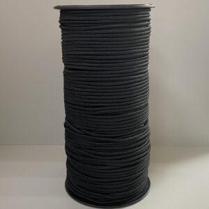 Резинка круглая 2.5 мм 100м черный