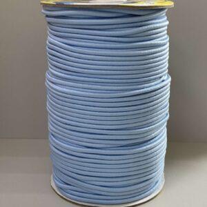 Резинка круглая 3.00мм ДС-172 голубая (100м)