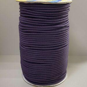 Резинка круглая 3.00мм ДС-204 темно-фиолетовая (100м)
