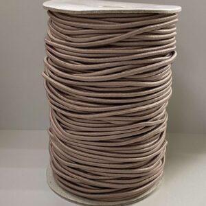 Резинка круглая 3.00мм ДС-294 бежевая (100м)