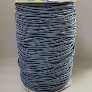 Резинка круглая 3.00мм ДС-379 светло-серая (100м)