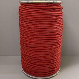 Резинка круглая 2.00мм ДС-257 красный (100м)
