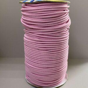 Резинка круглая 3.00мм ДС-232 розовая (100м)