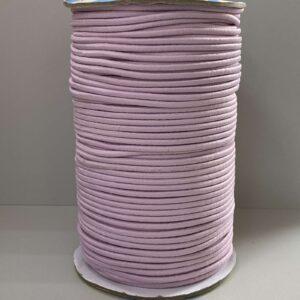 Резинка круглая 3.00мм ДС-191 светло-сиреневая (100м)